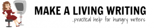 The Make a Living Writing logo was added to my portfolio in 2014.