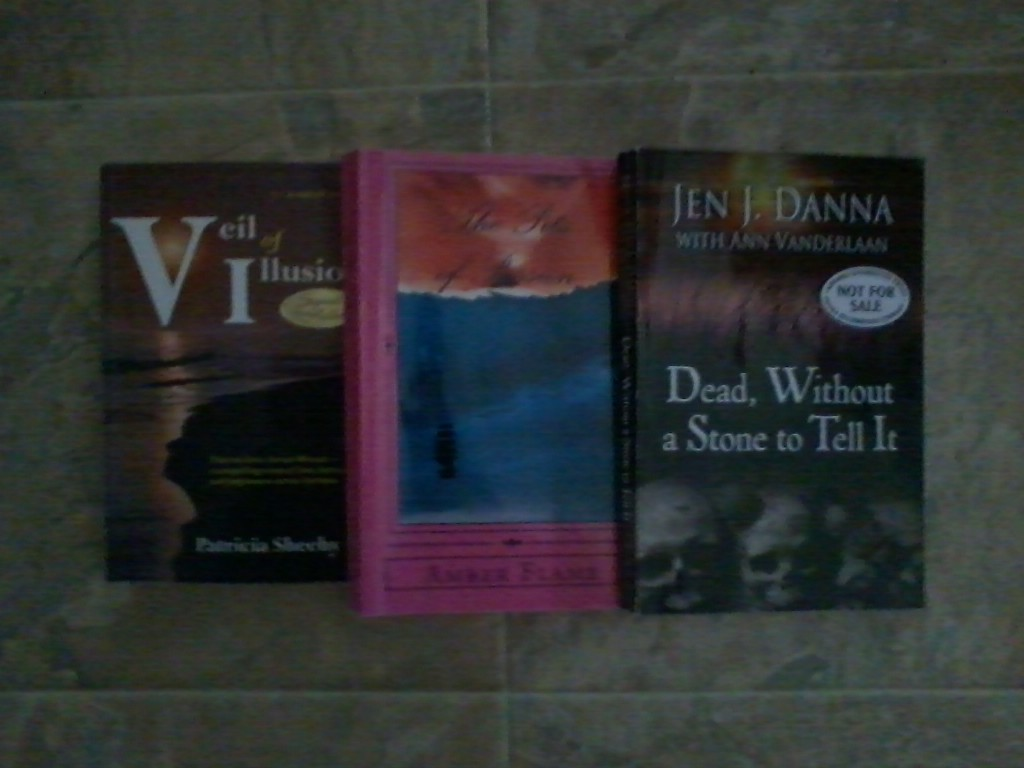 These are the autographed books that were sent to me!