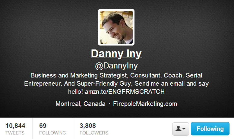 endorsement from danny iny from fp