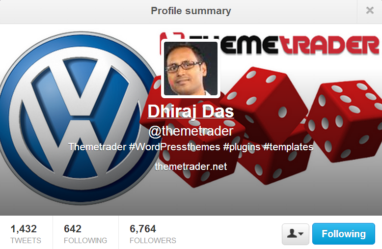 endorsement from Dhiras Das