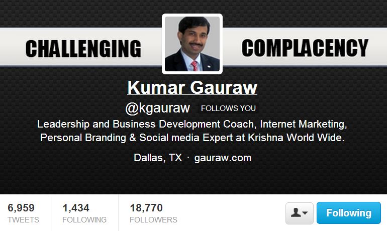 endorsement from Kumar