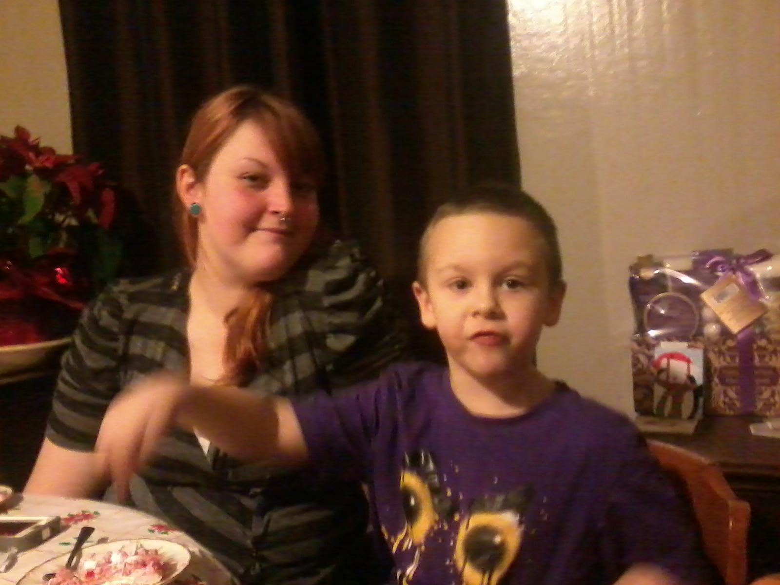 Ali with his big sis! (My niece, Taryn, and my nephew, Ali.)