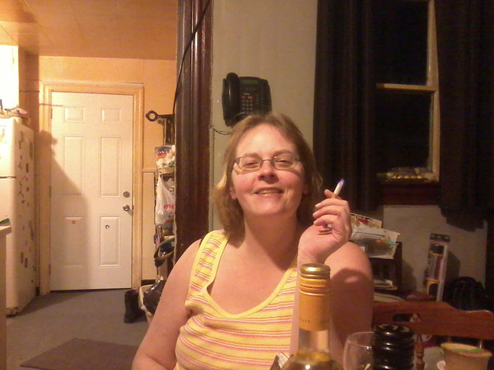 My sister, Janice.