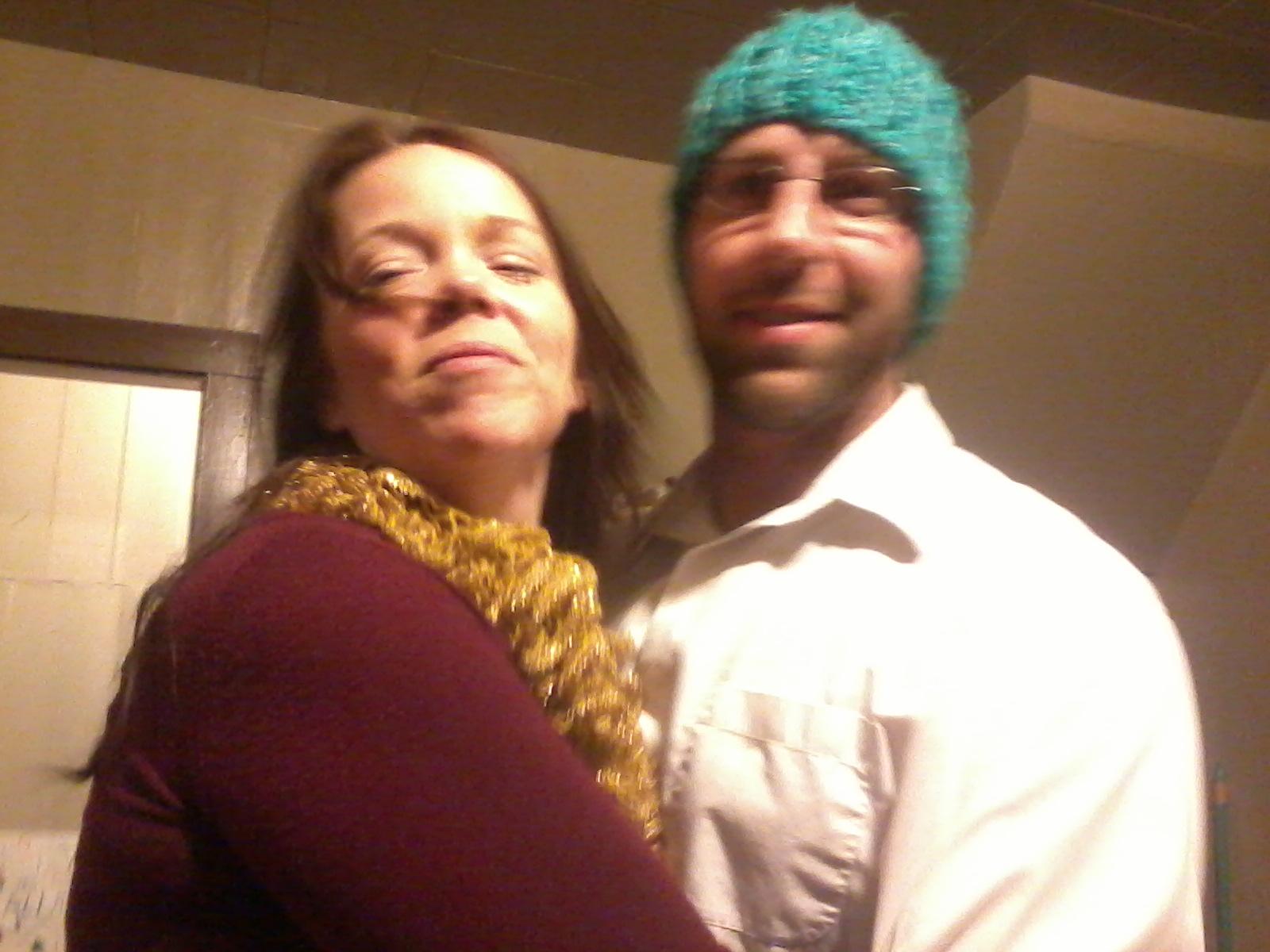 My brother, Dan, and his girlfriend, Tara.