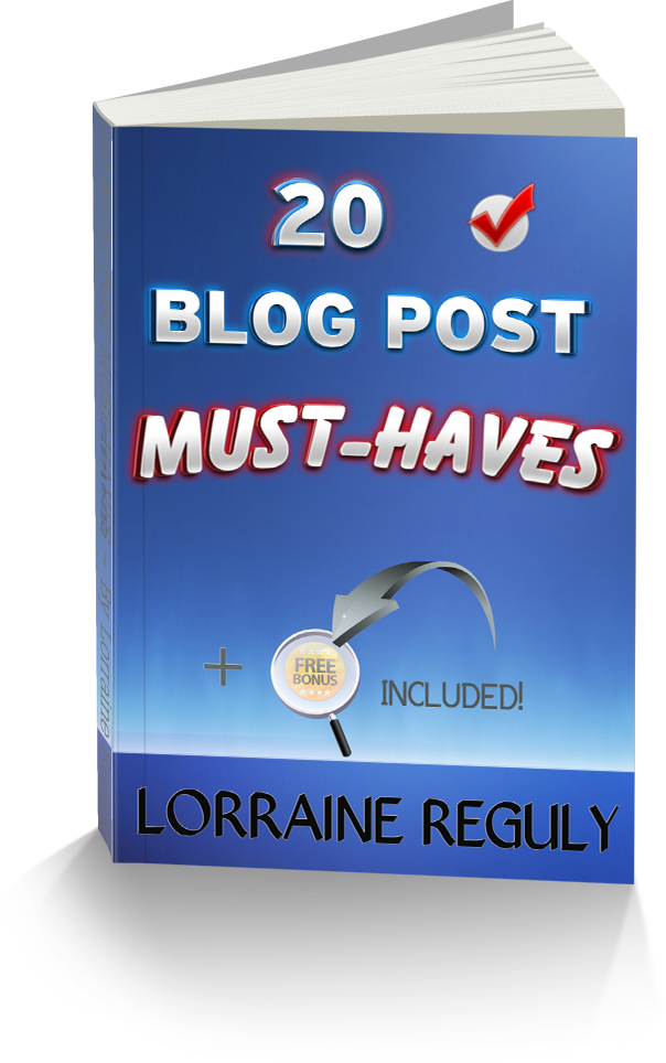 ebook image for 20 Blog Post Must-Haves