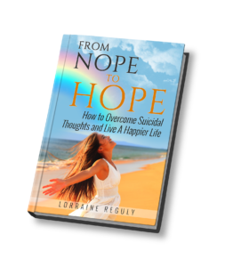 From Nope to Hope book cover in 3D
