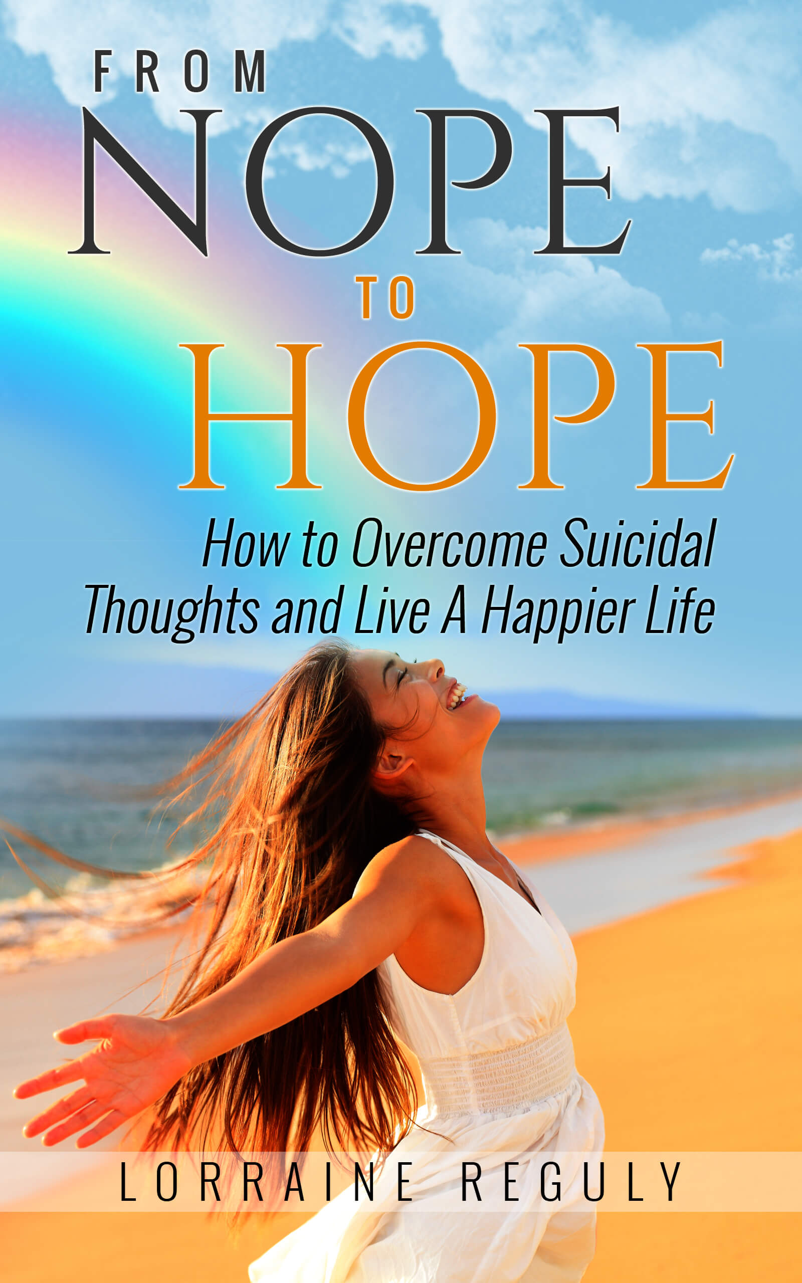 From NOPE to HOPE - final e-book cover with girl