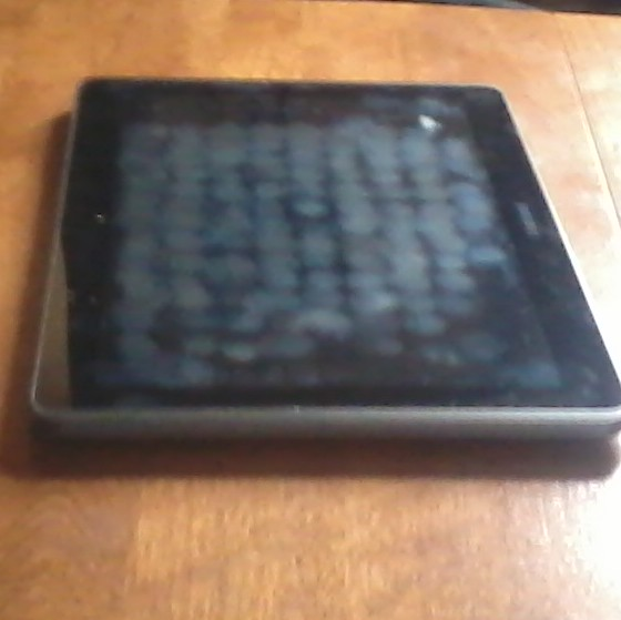my mom's tablet