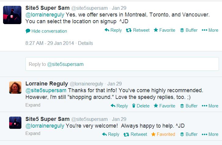 screenshot of Twitter conversation, part two