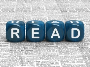 "Image of the word READ, as ""read"" is the core word of ""readability"""