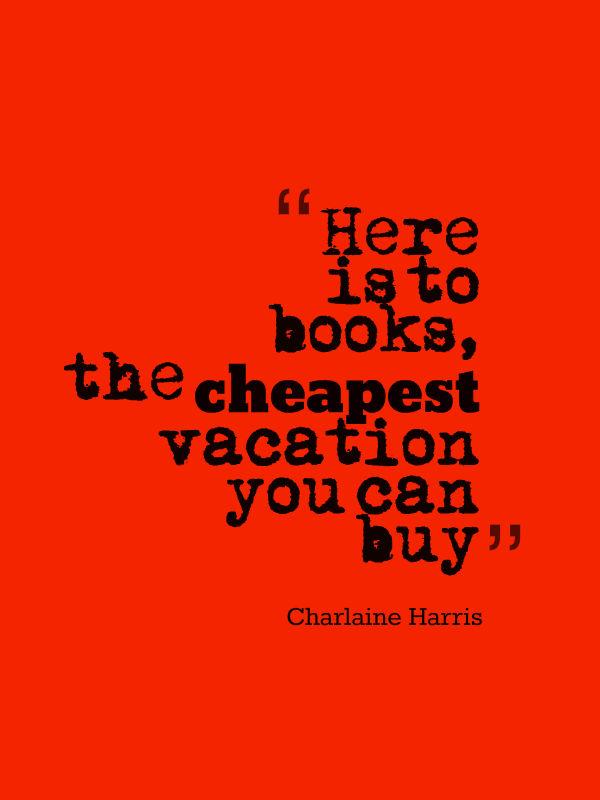 Charlaine Harris quote