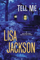 blue book cover for Tell Me by Lisa Jackson
