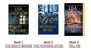 Lisa Jackson's Savannah series
