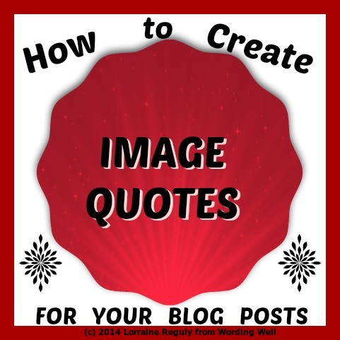 "This image says ""How to Create Image Quotes."""