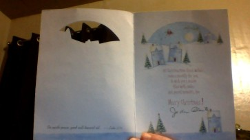 This is a picture of the card I received from Jo Ann Plante.