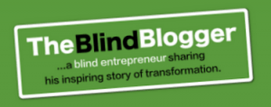 The Blind Blogger logo