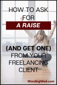 how to ask for a raise from your freelance client