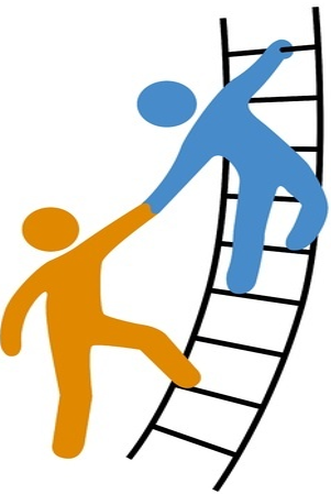 one person helping another through consulting