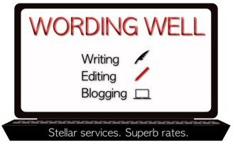 Wording Well's business card image