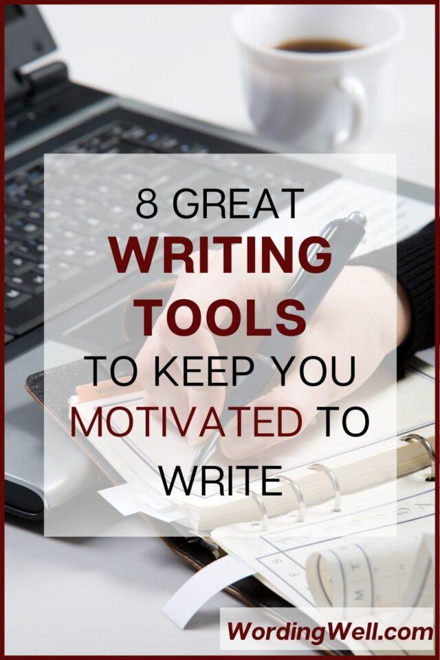 8 writing tools