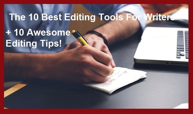 Pixabay image for post on Best Editing Tips and Tools for Writers