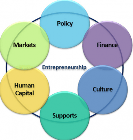 the elements of entrepreneurship This course examines the elements of entrepreneurship including: the foundations of entrepreneurship, sources for funding the business, acquisition practices in purchasing an existing business and understanding the essential components of a business plan.