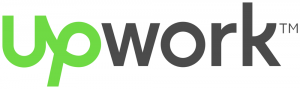Upwork logo for post about where to find a freelancing job