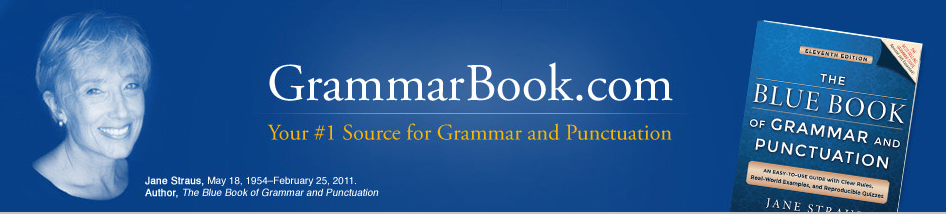 Grammar Book logo image to be used in the post 5 Sites to Use to Improve your Writing Skills