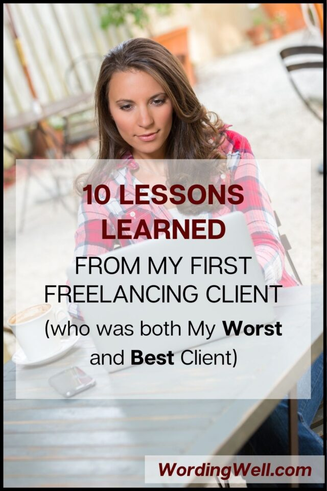 10 lessons learned from my first freelancing client