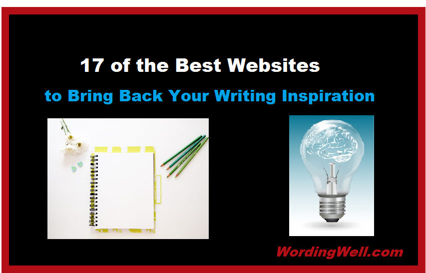 Creative writing interactive websites