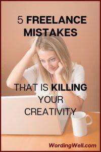 5 freelance mistakes