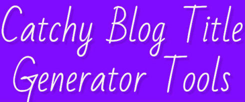 image for Catchy Blog Post Title Generator Tools