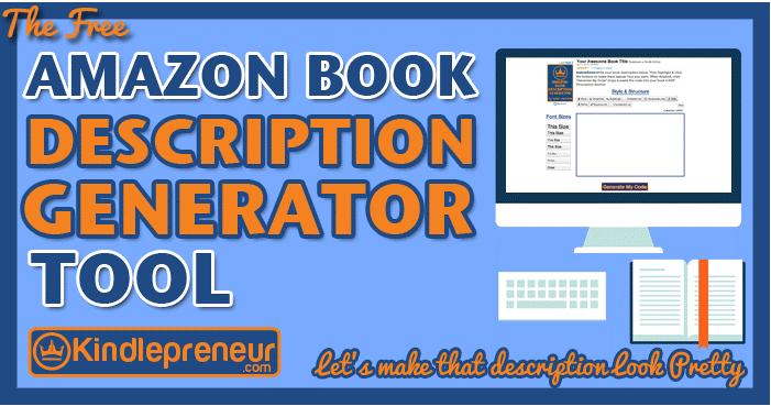 The Amazon Book Description Generator