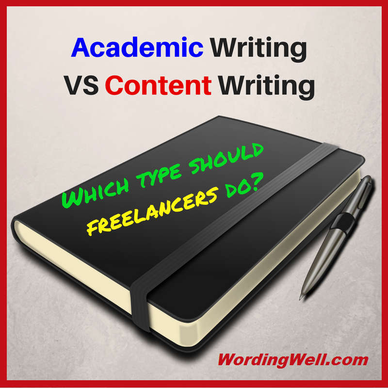 Academic Writing VS Content Writing
