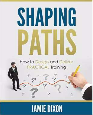Book cover for Jamie's book, Shaping Paths