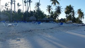 the hotel beach boundaries at the Blau