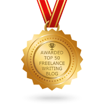 Top 50 Freelance writing blogs award