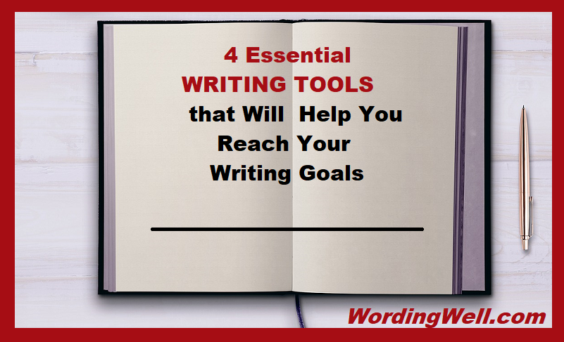 4 Essential writing tools image