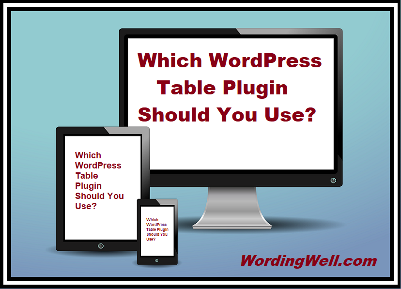 Which WordPress Table Plugin Should You Use?