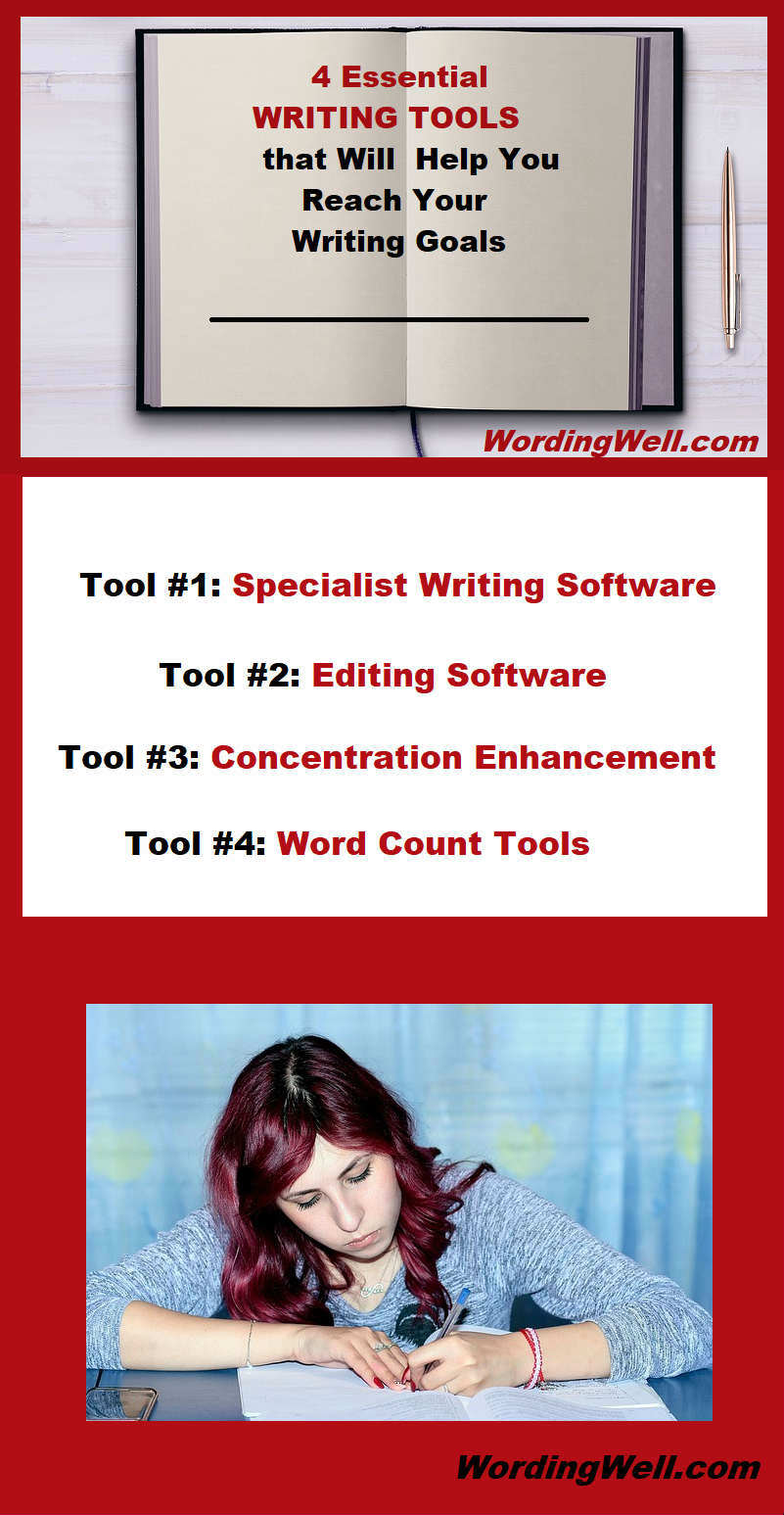What are the different, essential tools and apps every writer needs to be successful? Read the full post on Wording Well.