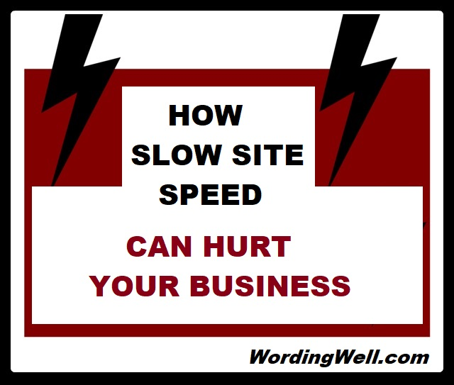 HOW SLOW SITE SPEED CAN HURT YOUR BUSINESS