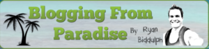 Blogging from Paradise logo