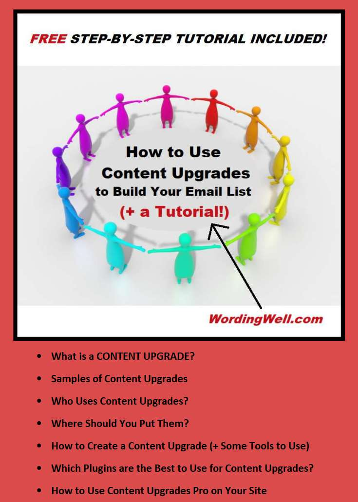 Pinterest graphic for How to Use Content Upgrades
