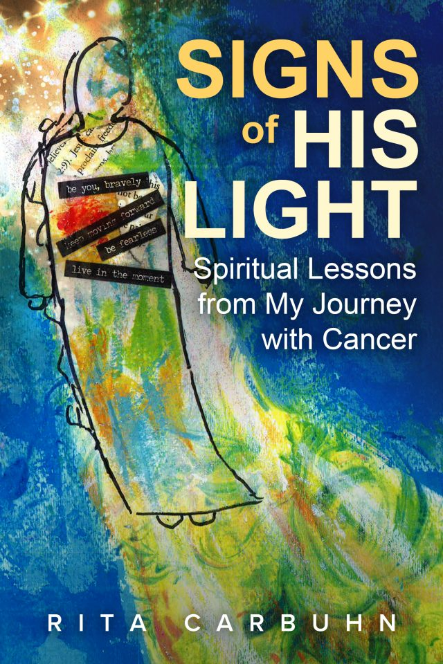 book cover for Rita's book, Signs of His Light
