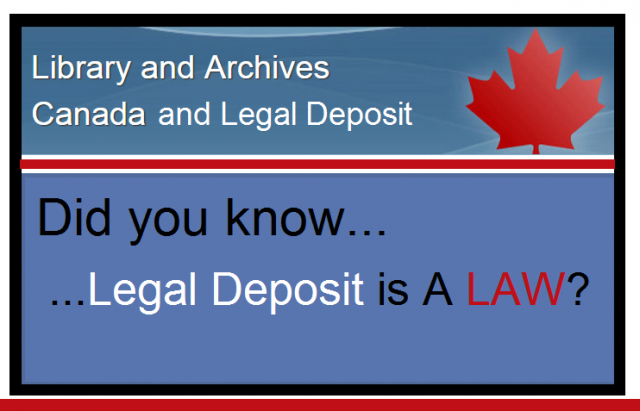 Library-and-Archives-Canada-Legal-Deposit-Information (needed for How to Become a Self-Published Author on Amazon/KDP)