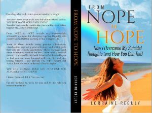 print book cover sample of From Nope to Hope